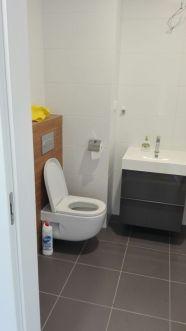 Łazienka dla gości - w trakcie realizacji