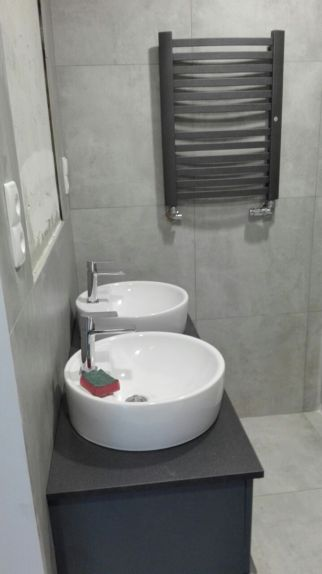 Łazienka przy garderobie - w trakcie realizacji