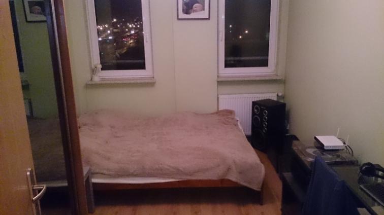 Sypialnia - przed remontem