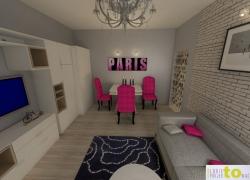 Salon - projekt