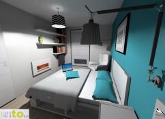 Sypialnia - projekt