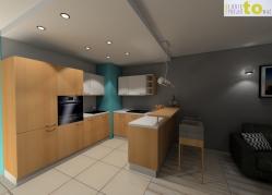 Aneks kuchenny - projekt