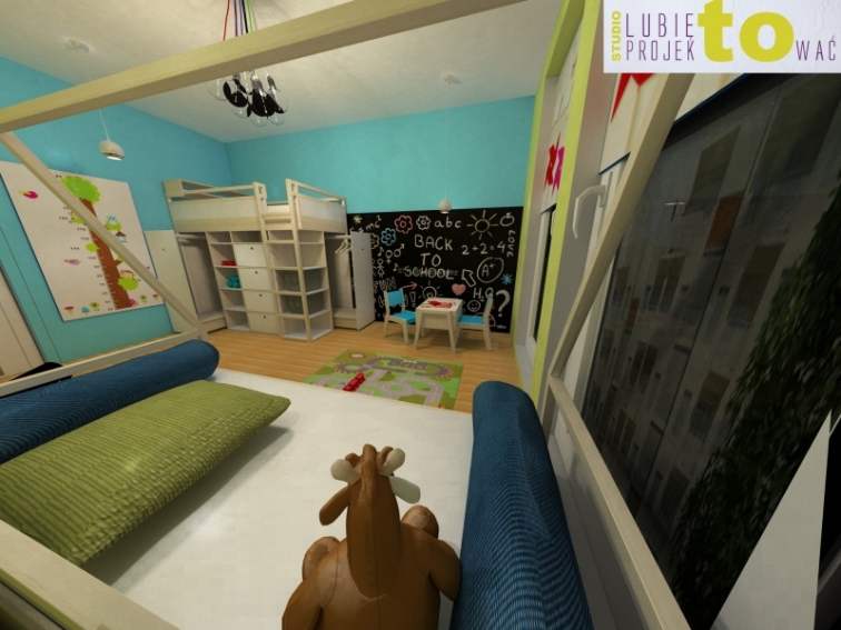 Pokój dzieci - projekt
