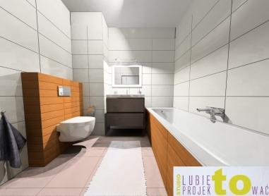 Łazienka dla gości - projekt