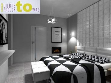 Sypialnia - projekt (pierwsza propozycja)