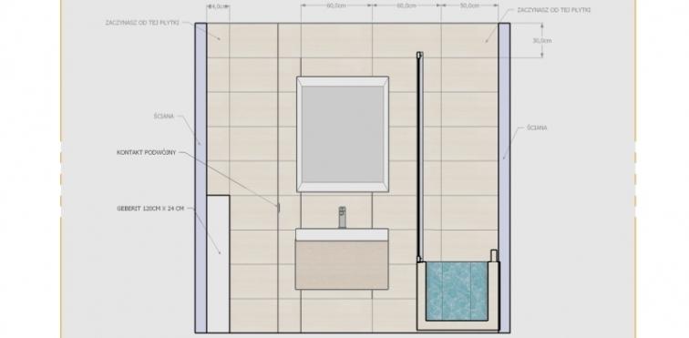 projekt_widok na umywalkę