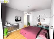 Sypialnia - projekt (druga propozycja)