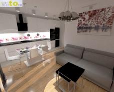 salon i aneks kuchenny_projekt