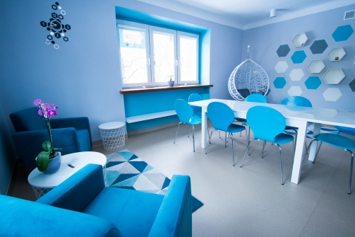 sala najmłodszej grupy - niebieska