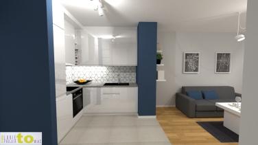przedpokój_projekt_widok na kuchnię