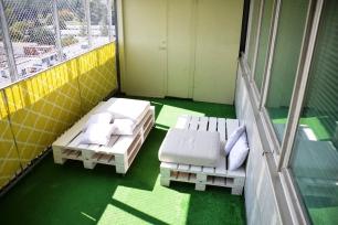 balkon po remoncie