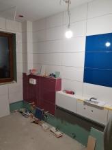 łazienka dzieci w trakcie