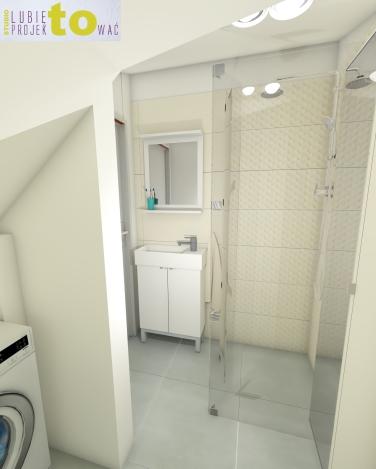 łazienka gości na parterze