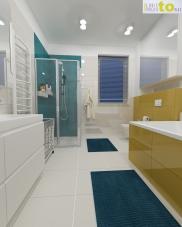 łazienka dzieci_projekt