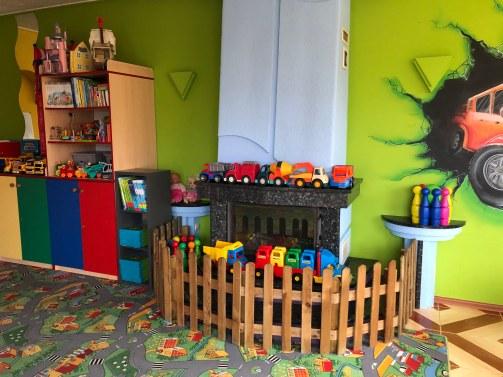 sala zabaw przed remontem